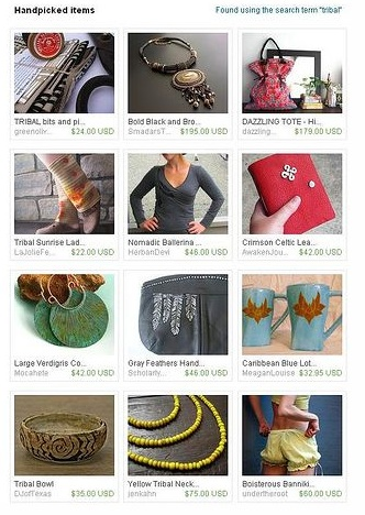 Etsy FP – Tribal Treasury