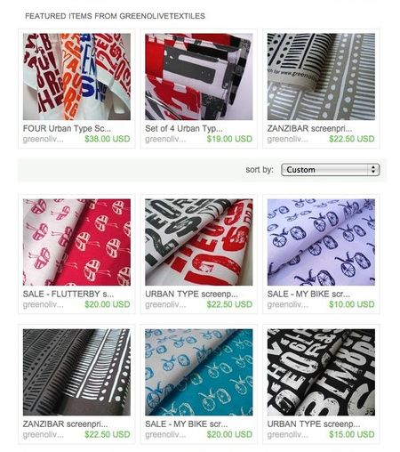 Textiles shop