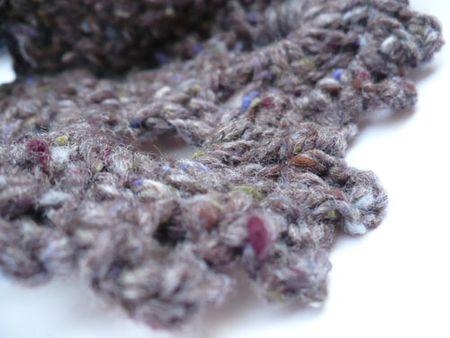 Dusk tweed crochet
