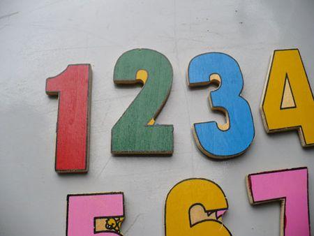 Number magnets
