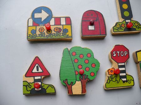 Street scape magnets