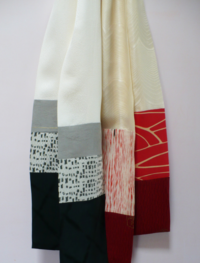 2 silk scarves