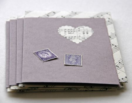 Purple hearts cards #2