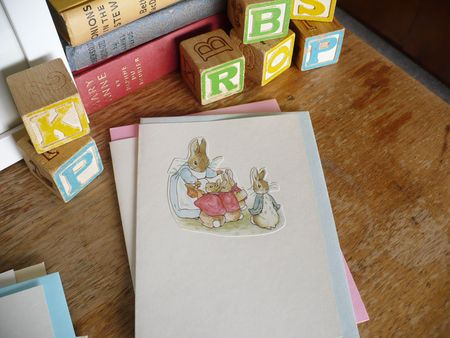 Peter rabbit card 2